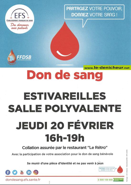 b20 - JEU 20 février - ESTIVAREILLES - Collecte de sang */ 02-02_27