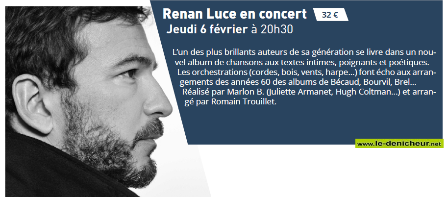 b06 - JEU 06 février - VIERZON - Ronan Luce en concert * 02-0611