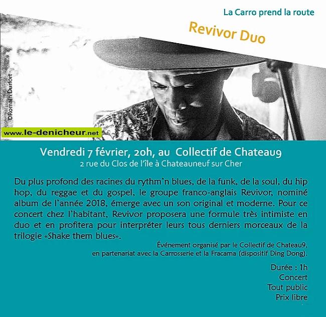 b07 - VEN 07 février - CHATEAUNEUF /Cher - Revivor Duo * 02-0710