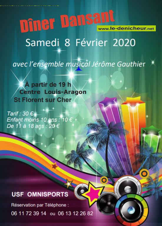 b08 - SAM 08 février - ST-FLORENT /Cher - Dîner dansant avec Jérôme Gauthier */ 02-08_16