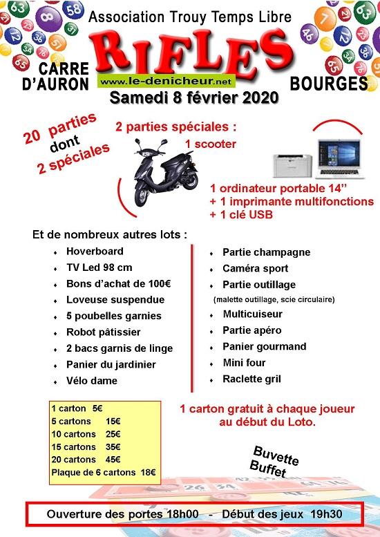 b08 - SAM 08 février - BOURGES - Rifles de Trouy Temps Libre */ 02-08_22
