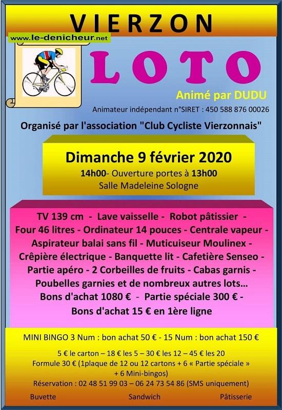 b09 - DIM 09 février - VIERZON - Loto du Club Cycliste */ 02-09_35