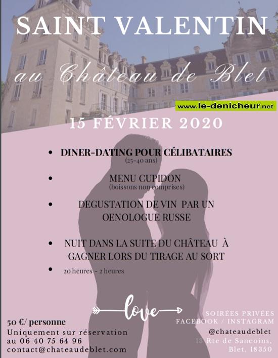 b15 - SAM 15 février - BLET - Diner-Dating pour célibataires (St-Valentin)  02-15_19