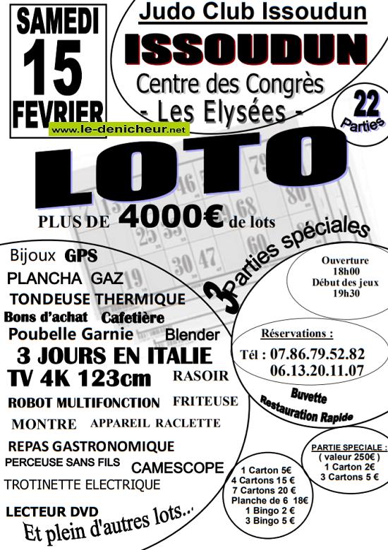 b15 - SAM 15 février - ISSOUDUN - Loto du judo .*/ 02-15_20
