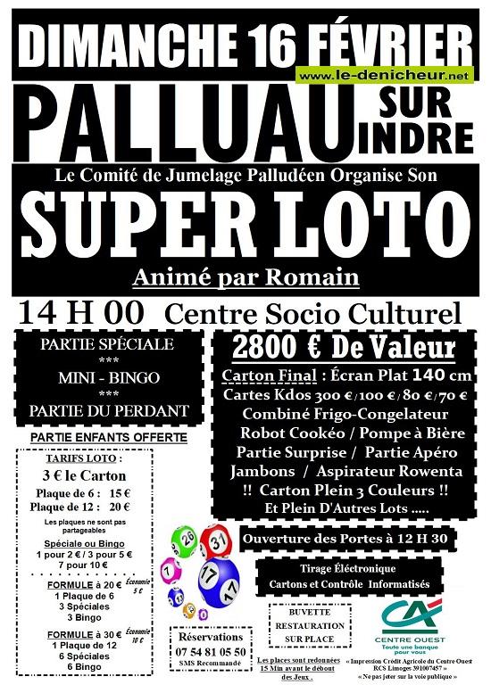 b16 - DIM 16 février - PALLUAU /Indre - Loto du jumelage palludéen */ 02-16_33
