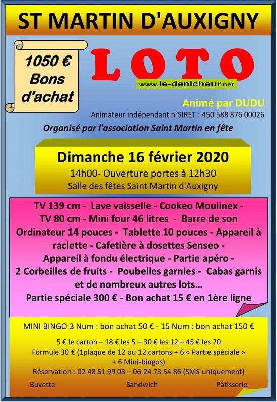 b16 - DIM 16 février - ST-MARTIN D'AUXIGNY - Loto de St-Martin en Fête */ 02-16_34