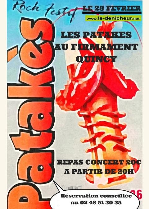 b28 - VEN 28 février - QUINCY - Les Patakès en concert */ 02-18_10