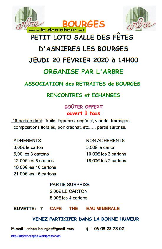 b20 - JEU 20 février - ASNIERES LES BOURGES - Loto de l'ARBRE */ 02-20_10