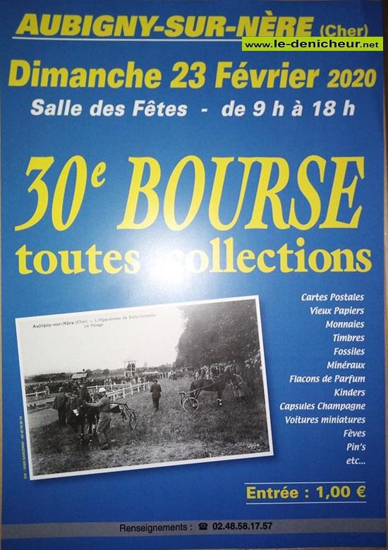 b23 - DIM 23 février - AUBIGNY /Nère - 30ème Bourse toutes collection s* 02-23_35