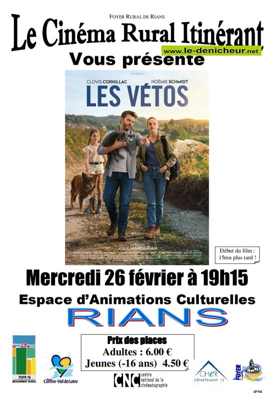 b26 - MER 26 février - RIANS - Les Vétos (cinéma rural itinérant) 02-26_10