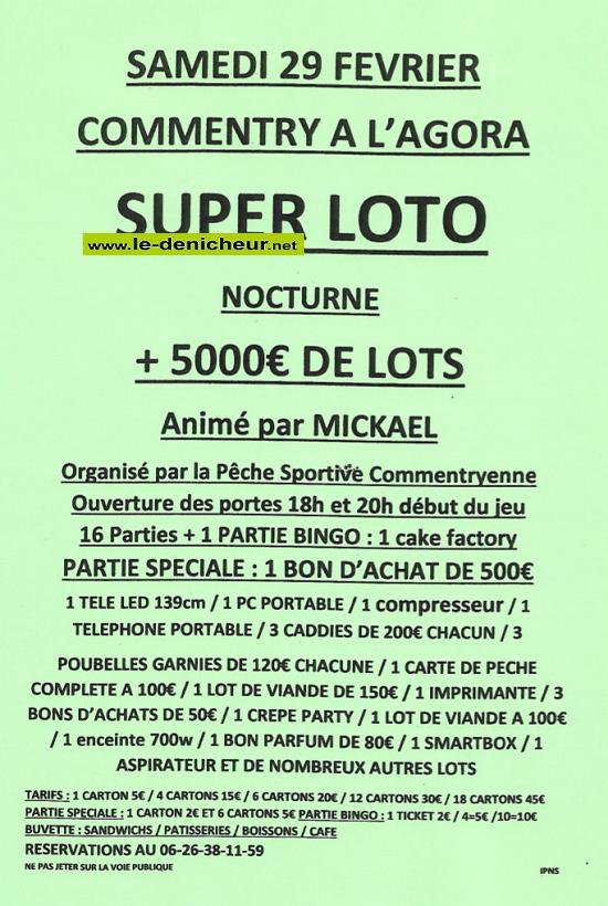 b29 - SAM 29 février - COMMENTRY - Loto de la Pêche Sportive */ 02-29_14