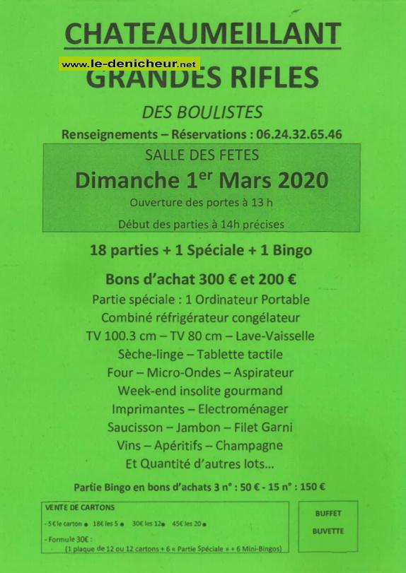 c01 - DIM 01 mars - CHATEAUMEILLANT - Loto des boulistes  .*/ 03-01_16
