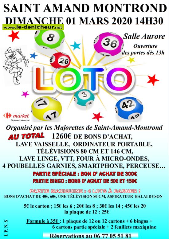 c01 - DIM 01 mars - ST-AMAND-MONTROND - Loto des majorettes */ 03-01_16