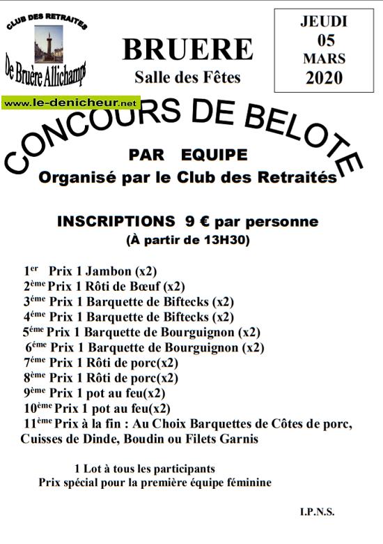 c05 - JEU 05 mars - BRUERE-ALLICHAMPS - Concours de belote */ 03-05_10