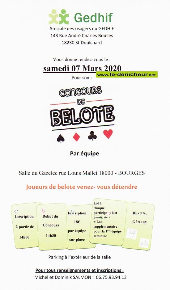 c07 - SAM 07 mars - ST-DOULCHARD - Concours de belote .*/ 03-07_11