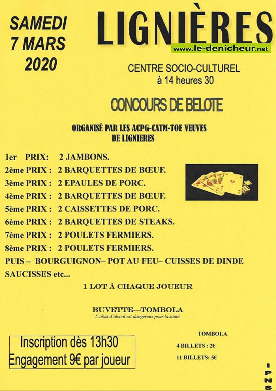 c07 - SAM 07 mars - LIGNIERES - Concours de belote */ 03-07_14