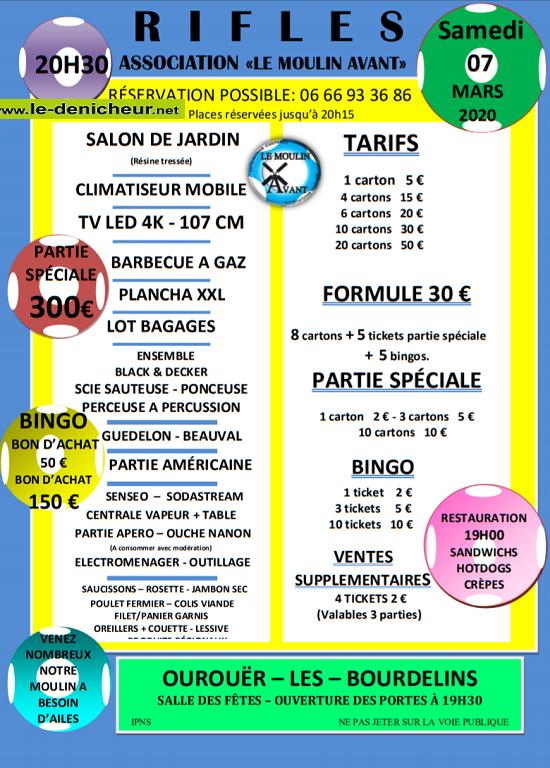 c07 - SAM 07 mars - OUROUIER LES Bourdelins - Loto du Moulin Avant */ 03-07_18