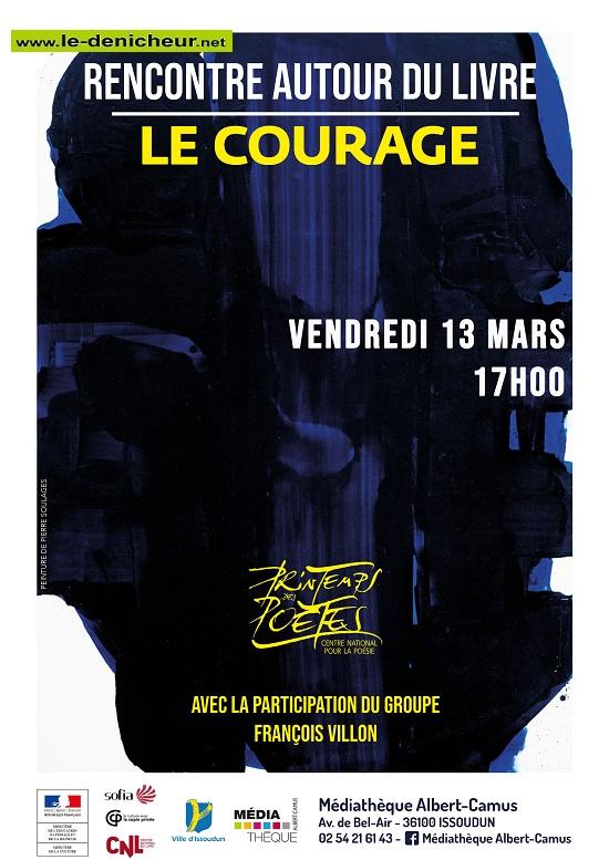 c13 - VEN 13 mars - ISSOUDUN - Rencontre autour du livre */ 03-13_18