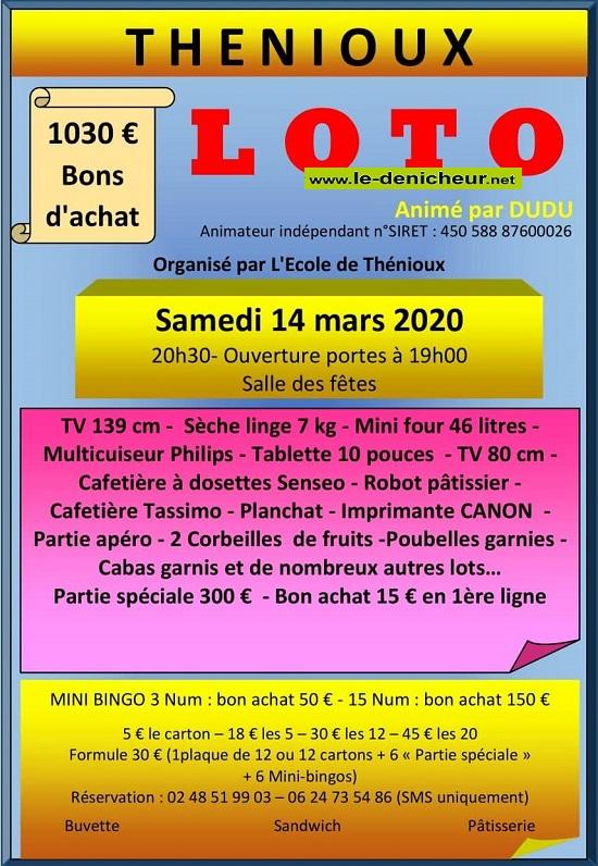 c14 - SAM 14 mars - THENIOUX - Loto de l'école */ 03-14_16