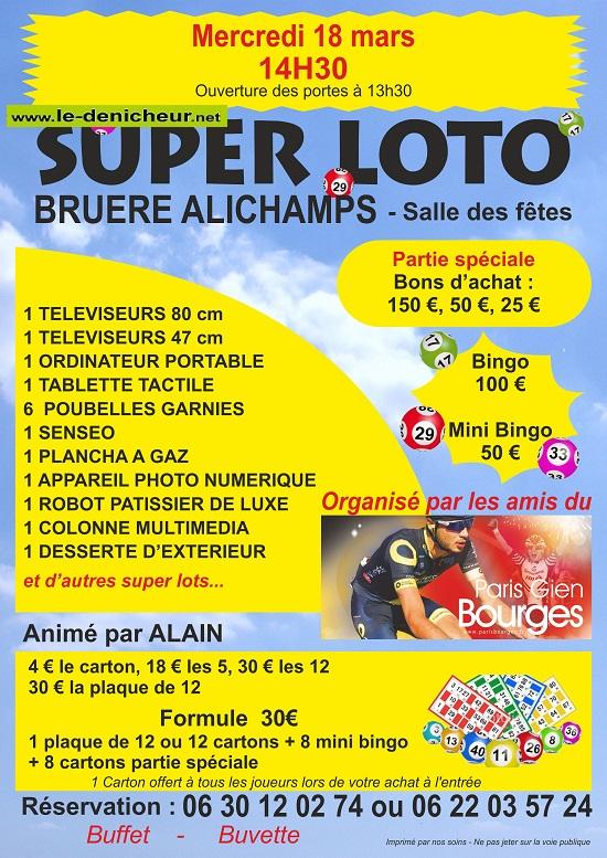c18 - MER 18 mars - BRUERE-ALLICHAMPS - Loto des Amis du Paris Gien Bourges*/ 03-18_10