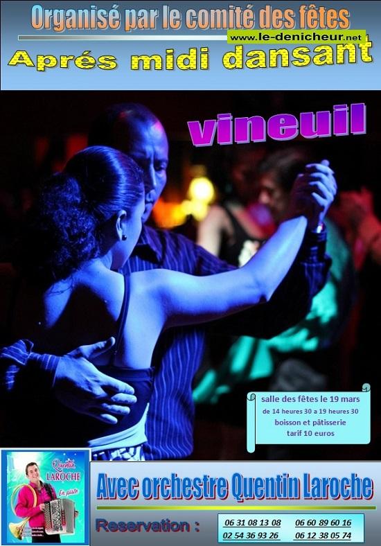 c19 - JEU 19 mars - VINEUIL - Thé dansant avec Quentin Laroche  */ 03-19_10