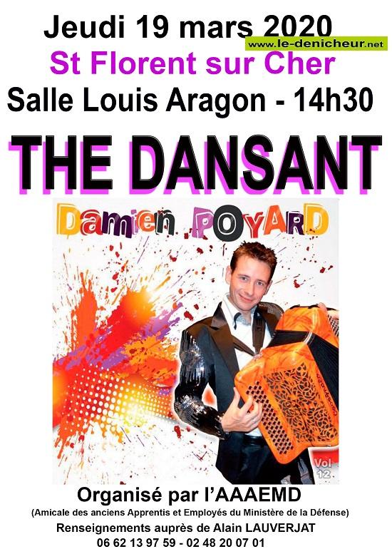 c29 - DIM 29 mars - ST-FLORENT /Cher - Thé dansant avec Damien Poyard * 03-29_21