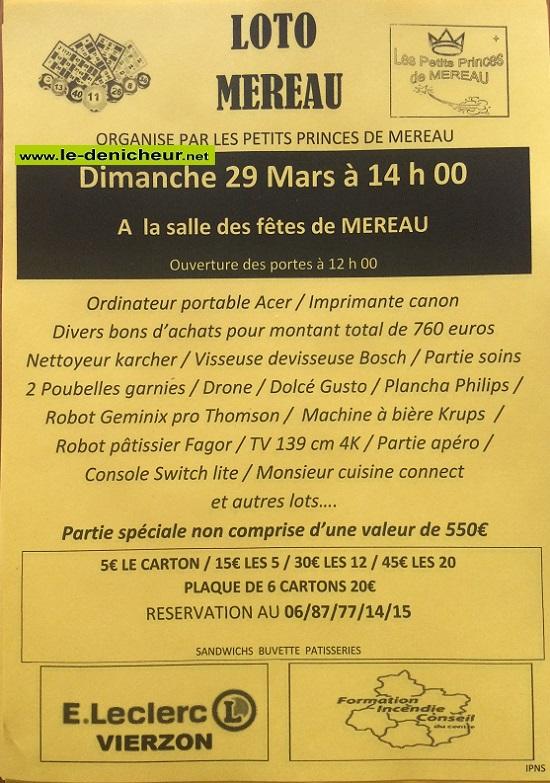 c29 - DIM 29 mars - MEREAU - Loto des Petits Princes */ 03-29_25