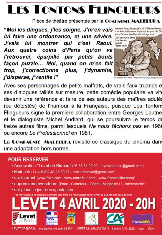 zd04 - SAM 04 avril - LEVET - Les Tontons Flingueurs (théâtre) */ 04-04_10