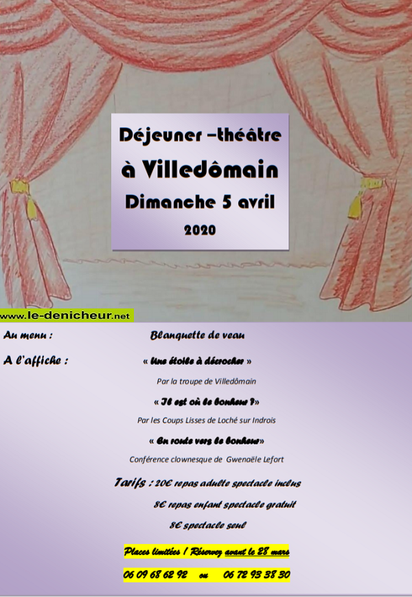 d05 - DIM 05 avril - VILLEDÔMAIN (37) - Déjeuner théâtre annulé 04-05_14