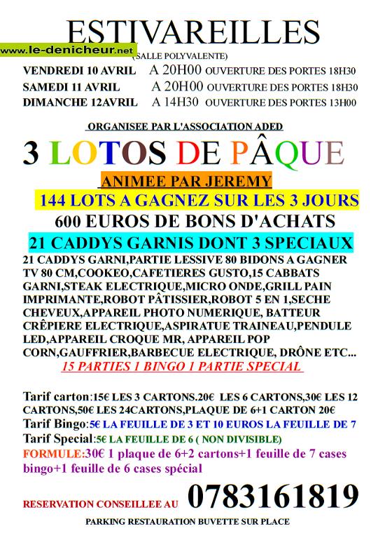 d10 - VEN 10 avril - ESTIVAREILLES - Loto de l'ADED annulé*/ 04-10_10