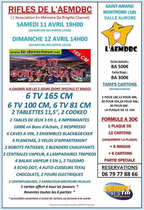 d12 - DIM 12 avril - ST-AMAND-MONTROND - Loto annulé 04-11_12