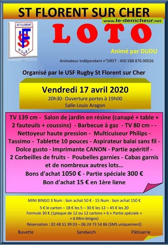 d17 - VEN 17 avril - ST-FLORENT /Cher - Loto du rugby */ 04-17_10