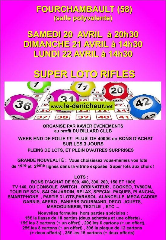 p22 - LUN 22 avril - FOURCHAMBAULT - Loto du Billard Club */ 04-20_16