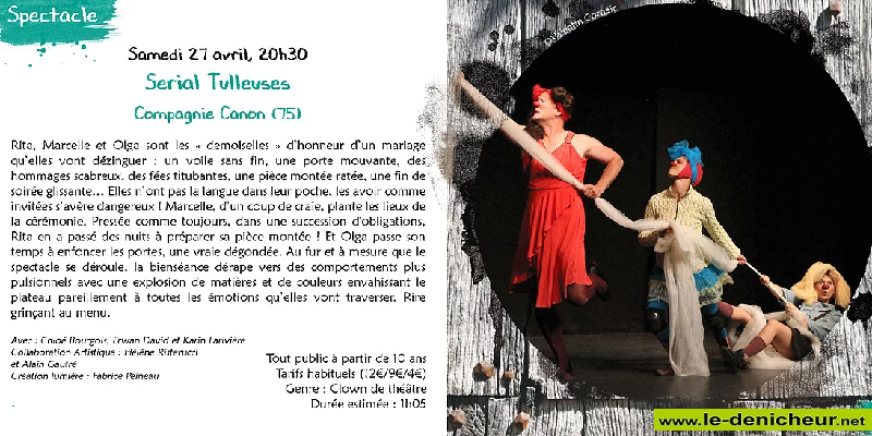 p27 - SAM 27 avril - ST-AMAND-MONTROND - Serial Tulleuses (spectacle) 04-2711