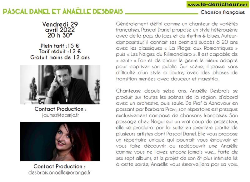 yd29 - VEN 29 avril - LE POINCONNET - Pascal Danel + Anaëlle Desbrais (chanson française) 04-29_11