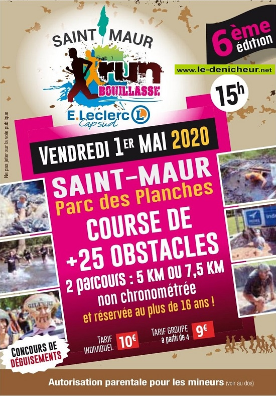 e01 - VEN 01 mai - ST-MAUR - 6ème Run Bouillasse */ 05-01_29
