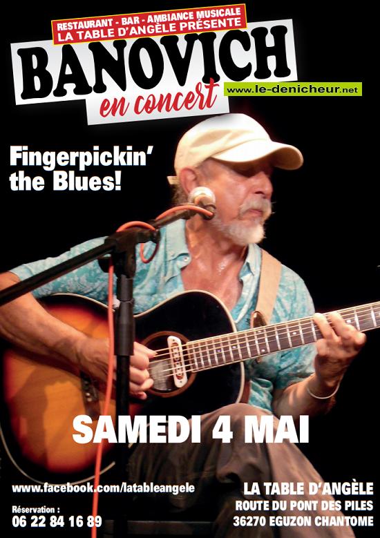 q04 - SAM 04 mai - EGUZON - Banovich en concert */ 05-04_10