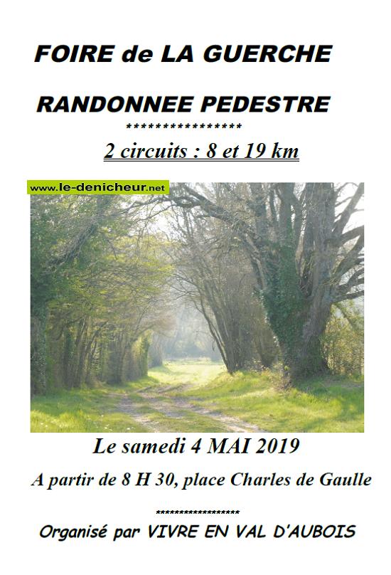 q04 - SAM 04 mai - LA GUERCHE /L'AUBOIS - Randonnée pédestre .*/ 05-04_13