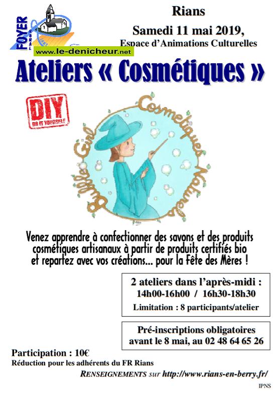 q11 - SAM 11 mai - RIANS - Ateliers cosmétiques */ 05-11_14