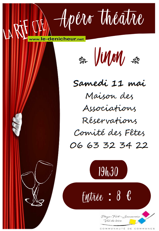 q11 - SAM 11 mai - VINON - Apéro théâtre .*/ 05-11_15