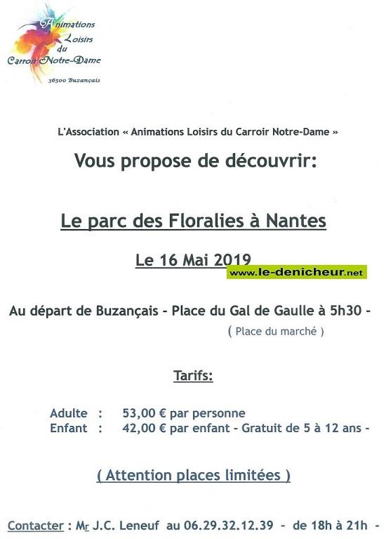 q16 - JEU 16 mai - BUZANCAIS - Journée au parc des Floralies de Nantes*/ 05-16_10