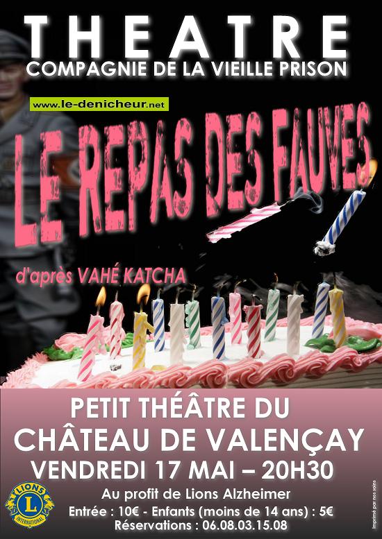 q17 - VEN 17 mai - VALENCAY - Le repas des fauves (théâtre) 05-17_11