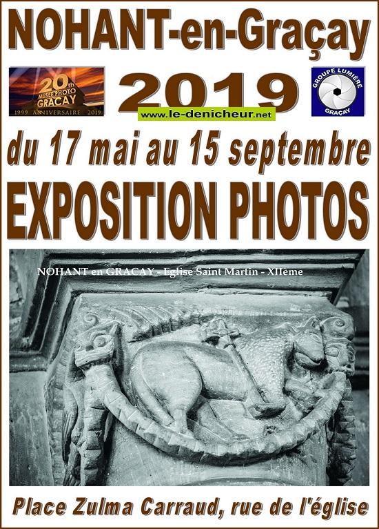 u15 - Jusqu'au 15 septembre - NOHANT en GRACAY - Exposition photos _* 05-17_25