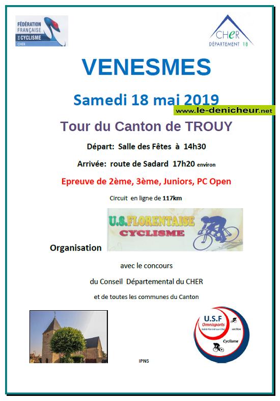 "q18 - SAM 18 mai - VENESMES - Cyclisme ""Tour du canton de Trouy"" */ 05-18_10"
