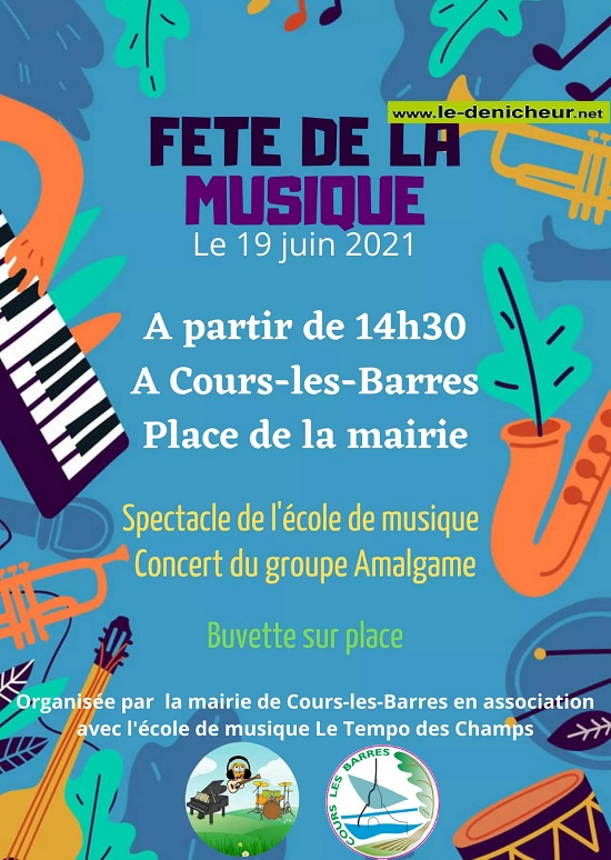 r19 - SAM 19 juin - COURS LES BARRES - Fête de la musique * 05-19_39