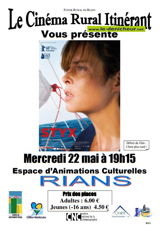 q22 - MER 22 mai - RIANS - Styx (cinéma rural itinérant) */ 05-22_10