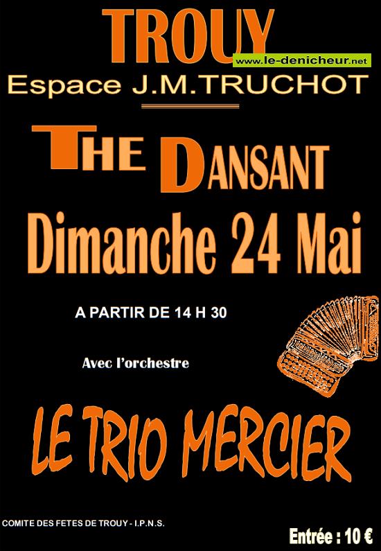 e24 - DIM 24 mai - TROUY - Thé dansant avec le Trio Mercier */ 05-24_11