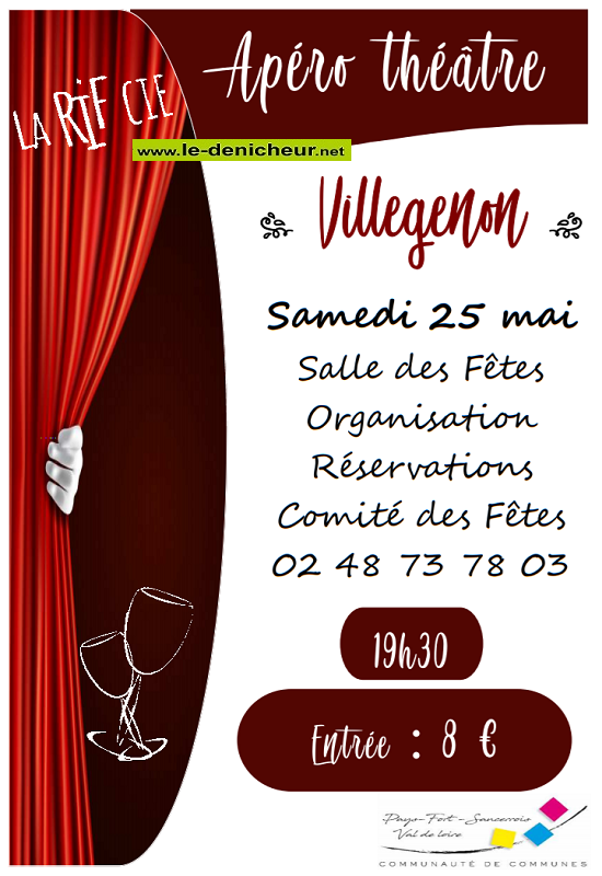 q25 - SAM 25 mai - VILLEGENON - Apéro théâtre */ 05-25_12