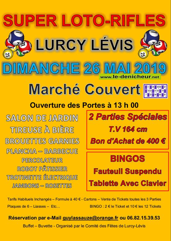 q26 - DIM 26 mai - LURCY LEVIS - Loto du comité des fêtes */ 05-26_19