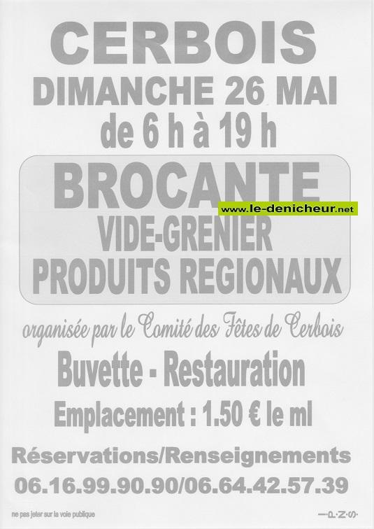 q26 - DIM 26 mai - CERBOIS - Brocante du comité des fêtes _* 05-26_20